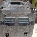 Caja para equipo medico laboratorio nuclear